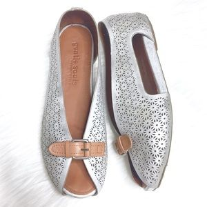 Gentle Souls by KC Bless World Metallic Shoes